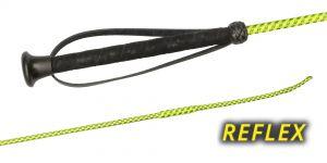 01720 REFLEX, Woven neon Nylon cover, UltraSoft grip, plastic cap, wrist loop